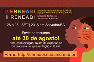 De 26 a 28 de setembro de 2018 em Salvador/BA.